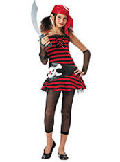 Girls Cutie Pirate Costume