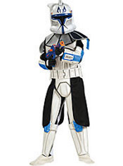 Boys Captain Rex Costume Deluxe - Star Wars Clone Wars