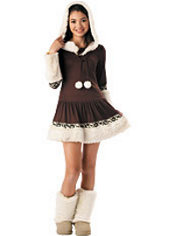 Girls Polar Princess Costume