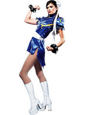 Adult Chun-Li Costume - Street Fighter