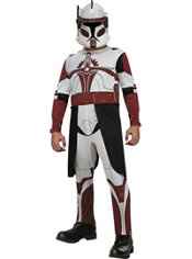 Boys Commander Fox Costume - Star Wars Clone Wars