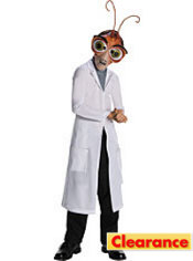 Boys Doctor Cockroach Costume - Monsters vs. Aliens Deluxe