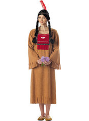 Adult Running Brook Native American Costume