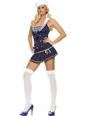 Adult Shipmate Cutie Sailor Costume