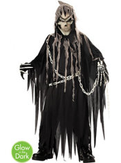 Boys Glowing Mr. Grim Reaper Costume