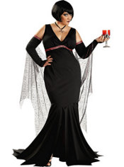 Adult Immortal Seductress Vampire Costume Plus Size