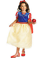 Girls Snow White Costume Deluxe