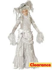 Girls Ghostly Lady Costume Elite