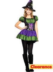 Teen Girls Hocus Pocus Witch Costume