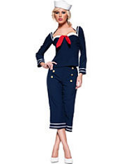 Adult Ship Mate Sailor Costume