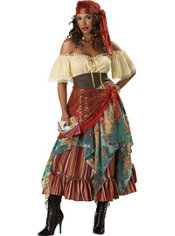 Adult Fortune Teller Costume Elite