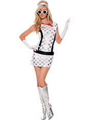 Adult Miss Mod Costume