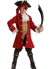 Boys Pirate Captain Costume Elite