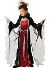 Girls Vampire Girl Costume