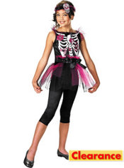 Girls Boney Ballerina Costume