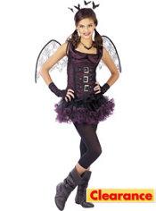 Girls Night Wing Bat Costume
