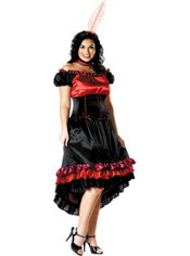 Adult Can-Can Costume Plus Size