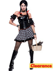 Adult Wicked of Oz Mistress Dorothy Costume