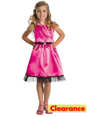 Girls Sharpay Pink Dress Costume - Sharpay's Fabulous Adventure