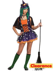 Girls Strangelings Twilight Witch Costume