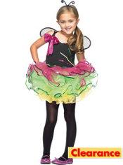 Girls Rainbow Bug Costume