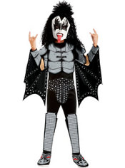 Boys Demon Costume Deluxe - Kiss