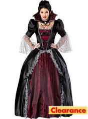 Adult Vampiress of Versailles Costume Plus Size Elite