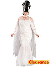 Adult Monster Bride Costume Plus Size Elite