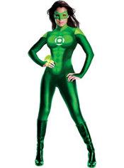 Adult Sexy Green Lantern Uniform Costume