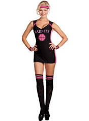 Adult Marsha Madness Sexy Basketball Costume