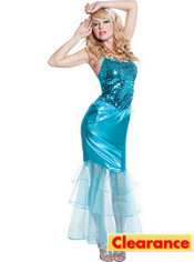 Adult Sea Diva Mermaid Costume