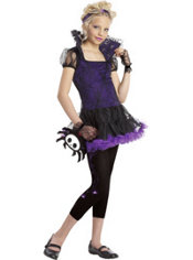 Girls Timmy the Spider Costume - Skelanimals