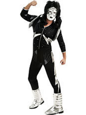 Adult Spaceman Costume Deluxe - Kiss