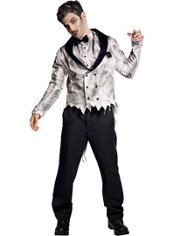 Adult Zombie Groom Costume