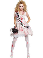 Adult Putrid Prom Queen Costume