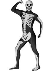 Adult Skeleton Morphsuit