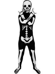 Boys Skeleton Morphsuit