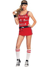 Adult Sexy Chicago Bulls Costume