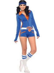 Adult Sexy NY Knicks City Dancers Costume