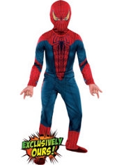 Boys Amazing Spiderman Costume - The Amazing Spiderman