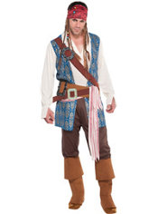Adult Jack Sparrow Costume