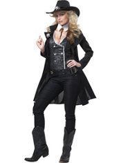Adult Round 'Em Up Cowgirl Costume
