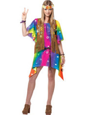 Teen Girls Groovy Girl Costume