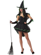Adult Sexy Wicked Witch Costume