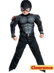 Toddler Boys Snake Eyes Muscle Costume - G.I. Joe