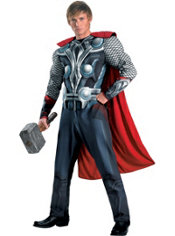 Adult Thor Muscle Costume - The Avengers