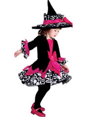Todder Girls Janie The Witch Costume Deluxe