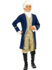 Boys Colonial George Washington Costume
