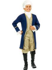 Boys Colonial George Washington Costume