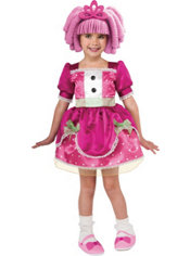 Toddler Girls Jewel Sparkle Costume - Lalaloopsy